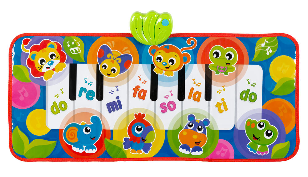 Image of Playgro Jumbo Jungle Piano/Sparkemåtte (7221135f-722a-456a-976f-d66348787d55)
