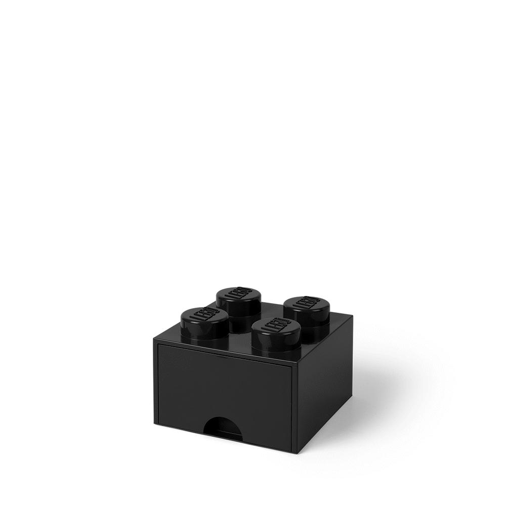 Image of LEGO Storage LEGO Opbevaringsskuffe Brick 4 - Sort (8ad059d4-f06b-41f0-8c0b-736c13cb6f1f)