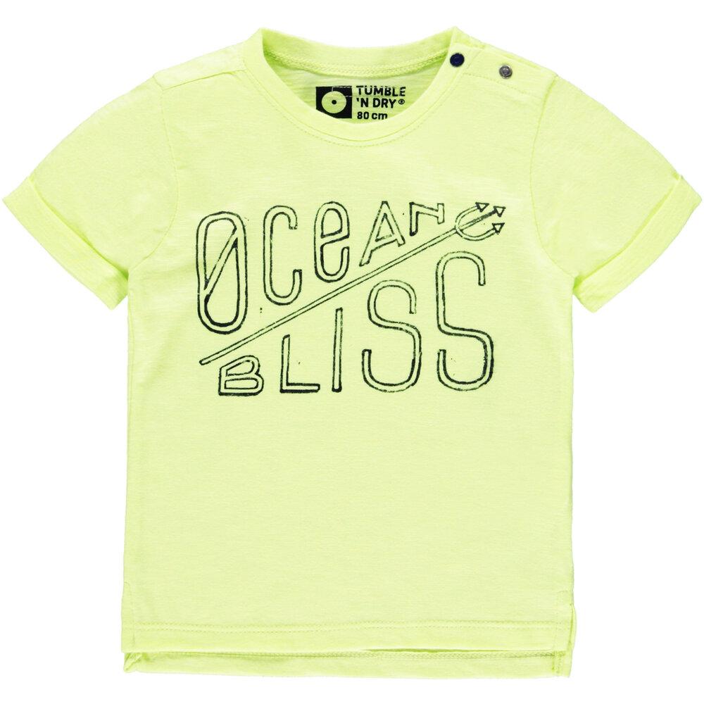 Image of Tumble´n Dry Dalby T-Shirt - Yellow Light (16218f05-2fbf-43ce-b5de-fcfd21ebc18d)