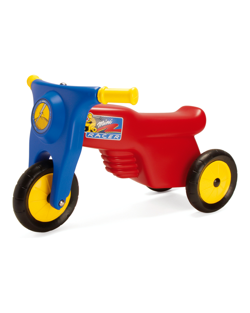 DanToy Motorcykel rød Gummihjul
