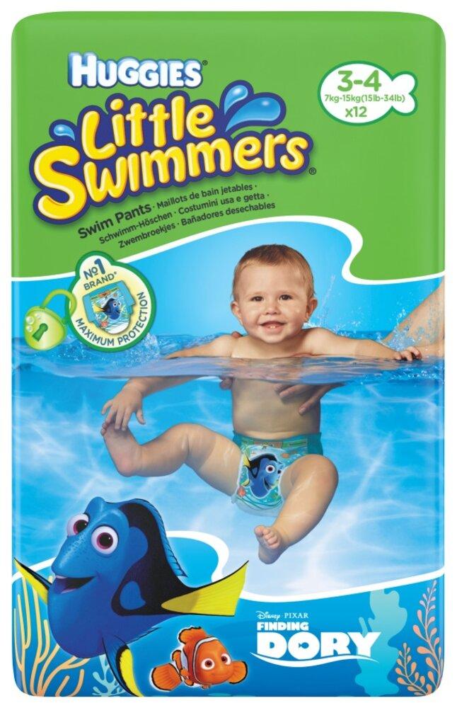 Image of Huggies Litlle Swimmers Svømmebleer (3/4) (1590c2bf-4a08-4588-9b38-d2c4ee5511d5)