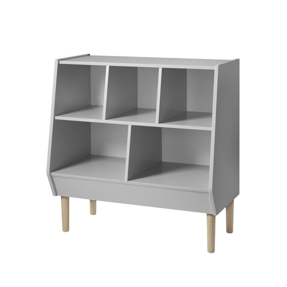 Done By Deer Storage rack, grey