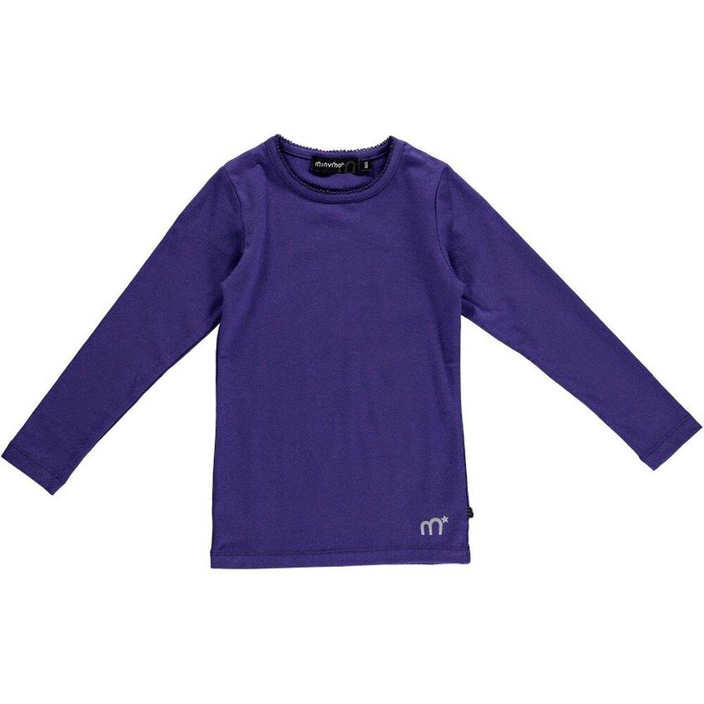 Minymo Basic Bluse - Lilla 624
