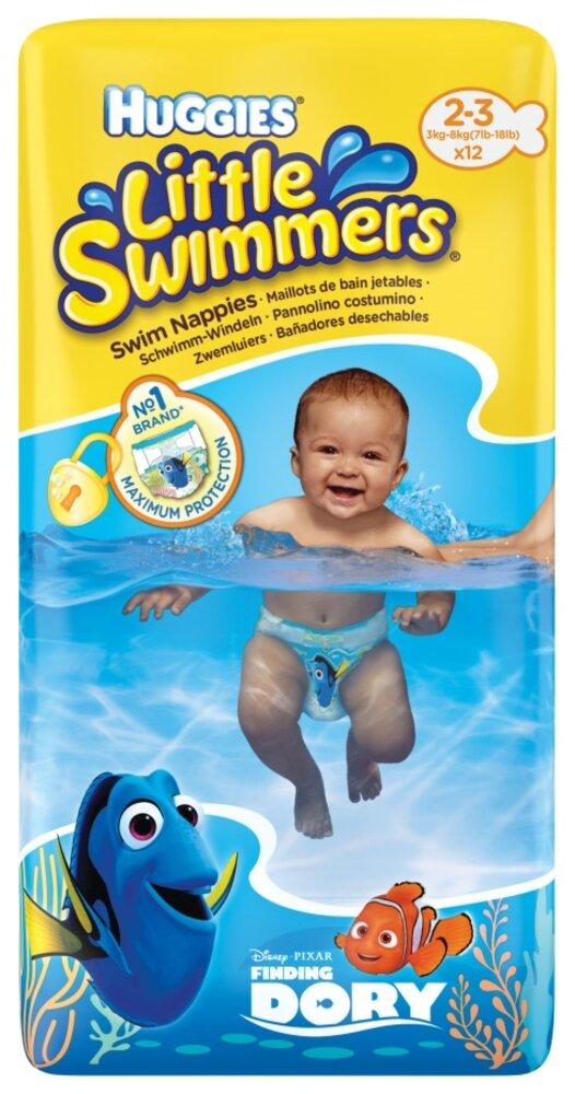 Image of Huggies Litlle Swimmers Svømmebleer (2/3) (2fee496a-d642-4e0b-a62b-12d4453fc659)