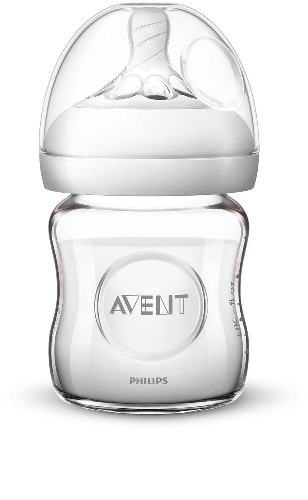 Image of Philips Avent Natural Glas Flaske, 120 ml. (ae6b6f42-4fc7-4102-9b83-e5e51ab0f706)