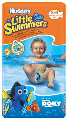 Litlle Swimmers Svømmebleer (5/6)