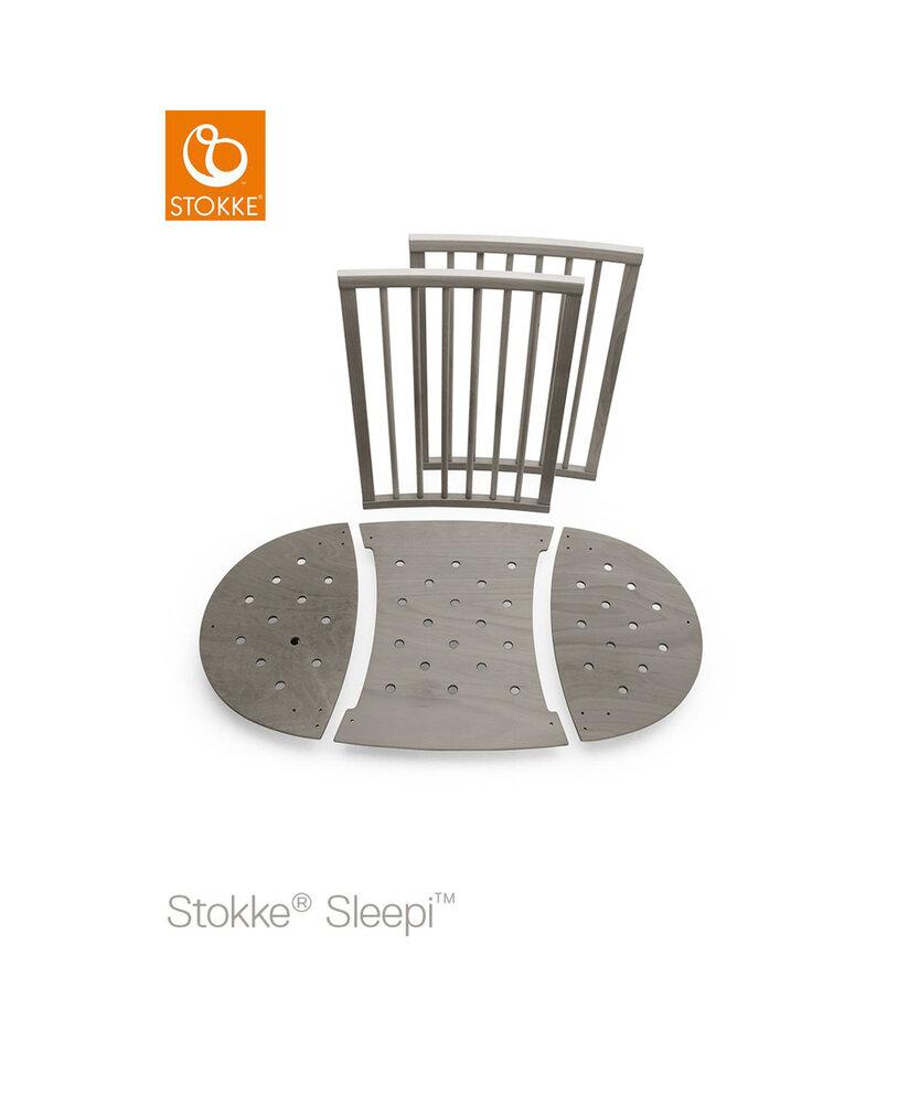 Image of Stokke® Sleepi™ Sengeforlængersæt - Hazy Grey (0d7619cf-91c9-451e-a4f5-c66d1410cf1e)