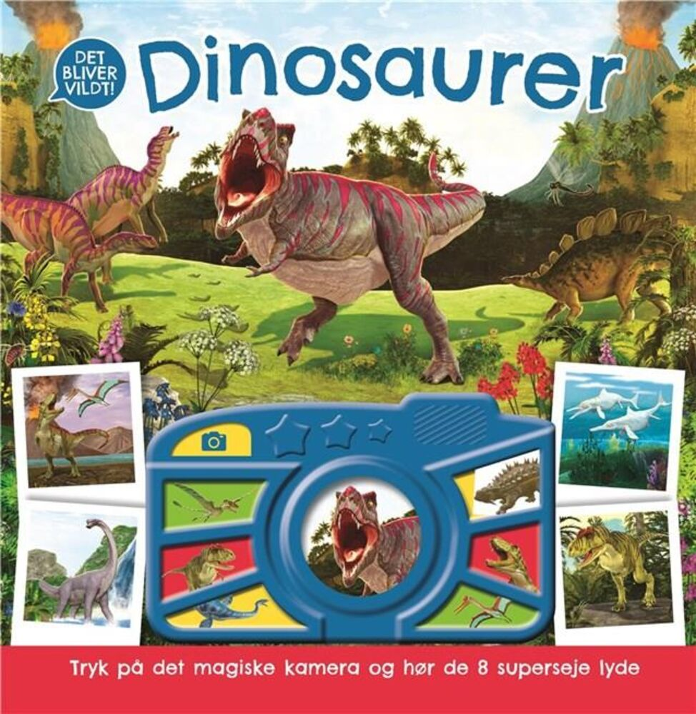 Image of Lindhardt og Ringhof Dinosaurer Med Lyd (be84c02e-0ab2-4836-ac04-62a773a9d564)