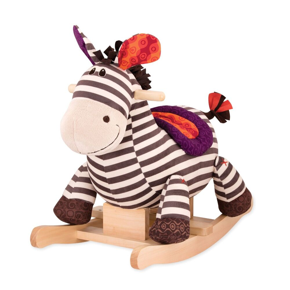 Image of B Toys Gyngezebra Kazoo (8ca50cba-307a-4732-9a62-74d23562f3a8)
