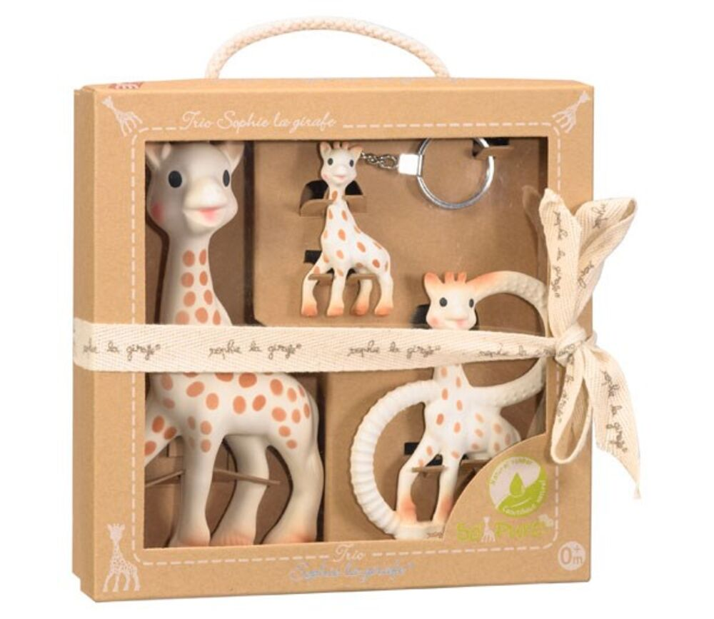 Image of Sophie la Girafe So Pure Trio (ee821493-9be5-41be-bd8b-fe06db8c1fd0)