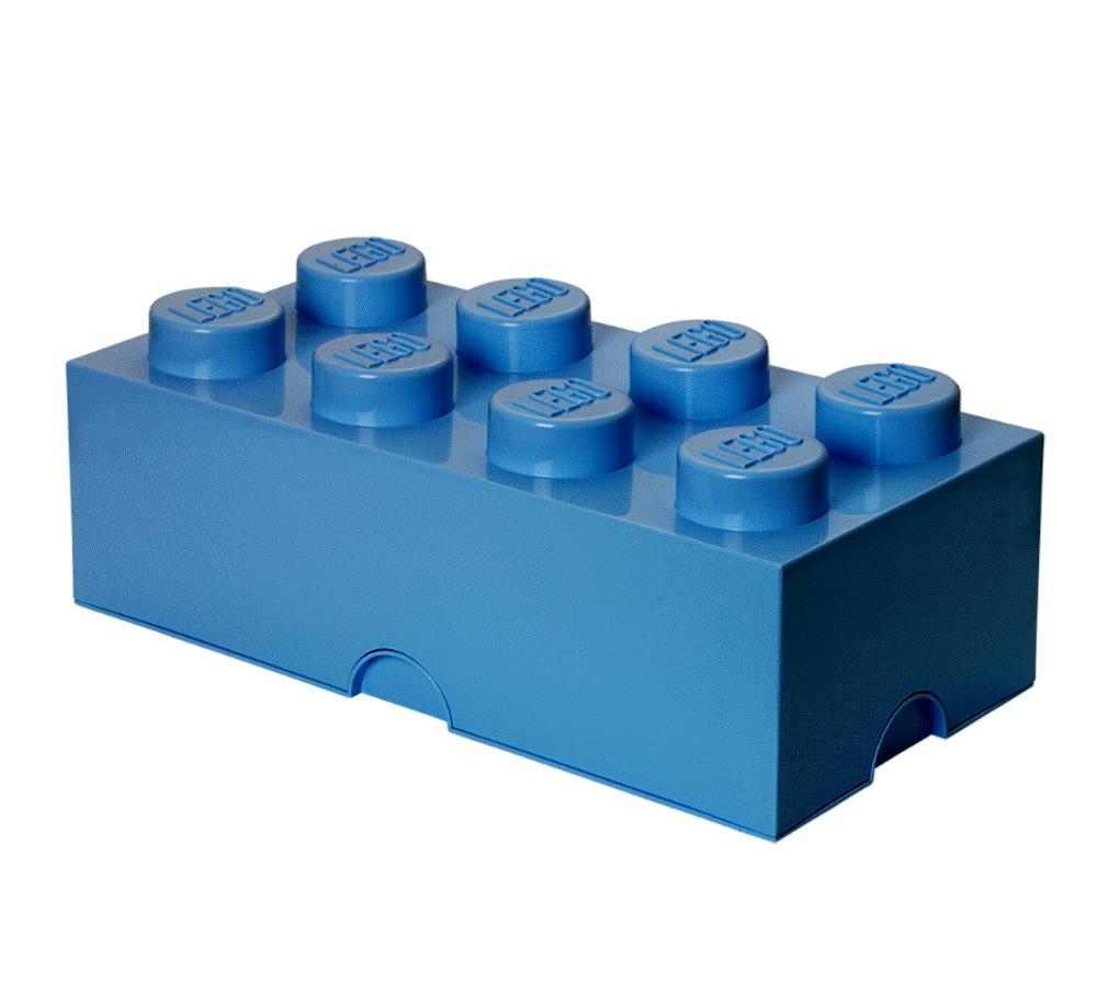 Image of LEGO Storage Lego Opbevaringskasse 8 - Blå (4bcaebe1-f474-49c4-baaf-aac31e418771)