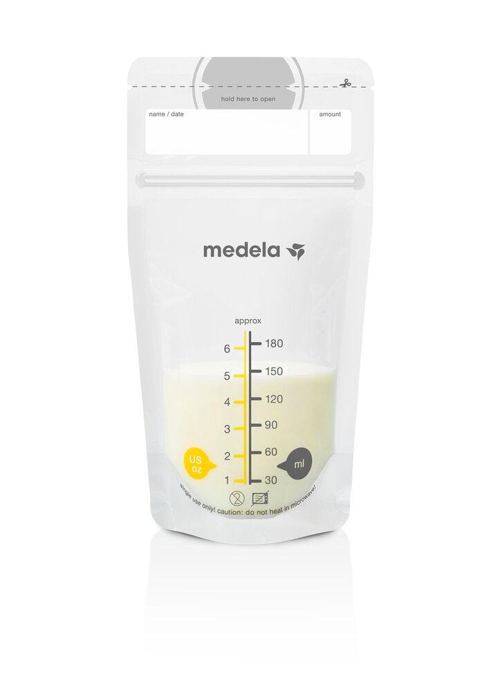 Image of Medela Opbevaringsposer For Brystmælk (25 stk) (5ab84a1c-cd37-48e7-b1a3-8006c830d887)