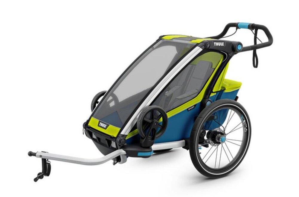 Billede af Thule Chariot Sport 1 Cykelanhænger - chartreuse