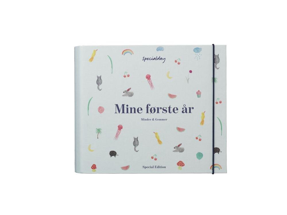 Image of Specialday Mine Første År - Minder Og Gemmer - Blå (3fc935ac-71d1-4c9e-9d0b-ff2cf3c41f3c)