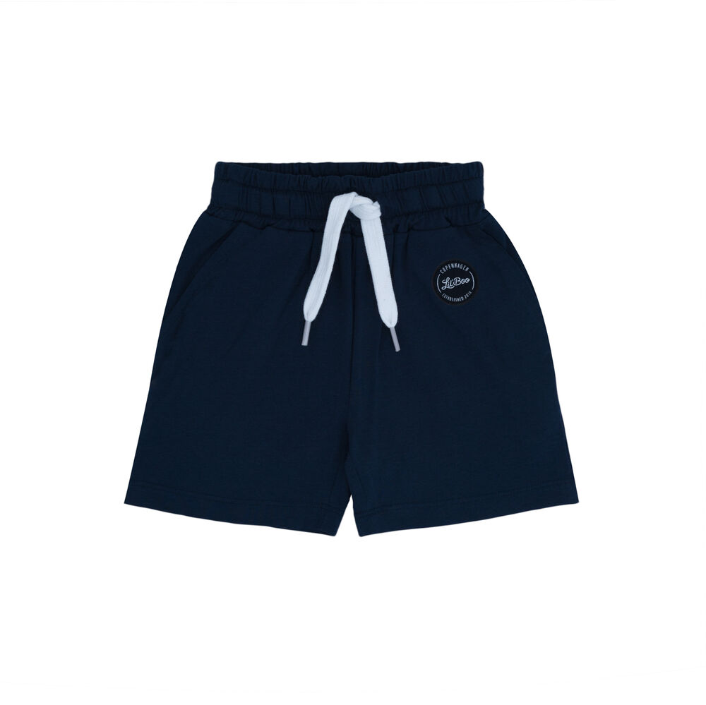 Image of Lil' Boo Classic shorts - NAVY (9cf722ef-2f84-4a7c-9525-cecdd354ee2a)