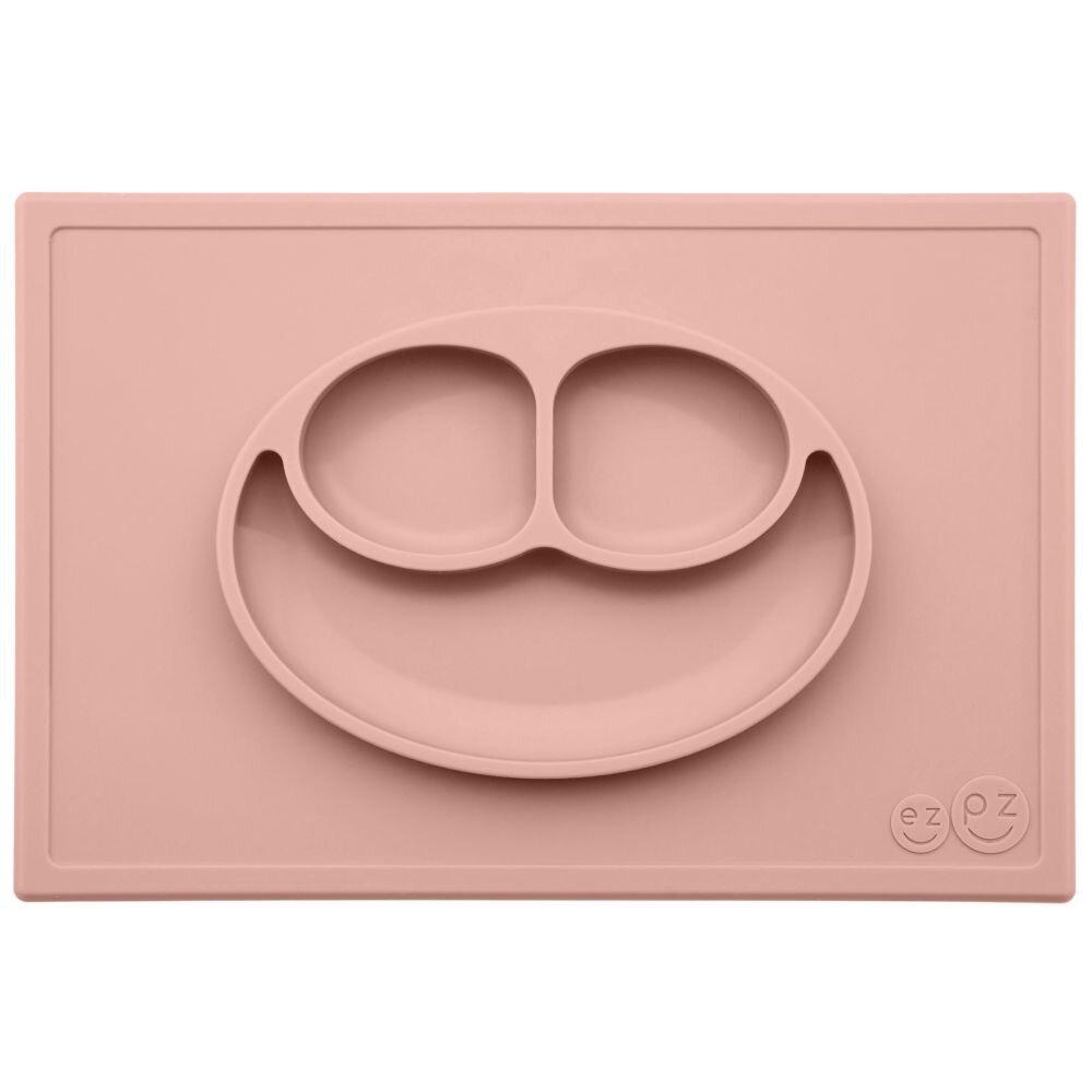 Image of EZPZ Tallerken Happy Mat - Blush (e4c46f30-1a3f-4c6d-886d-e54d5e70b00a)