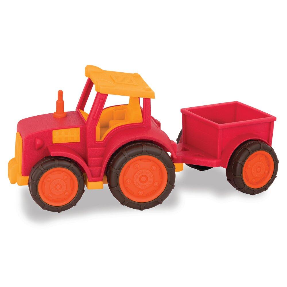 Image of Wonder Wheels, Traktor Med Anhænger (53c1af2f-8be8-4c38-a32f-fd809077f479)