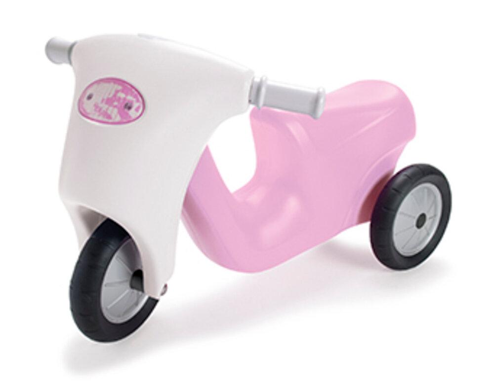 DanToy Prinsesse Scooter, Gummihjul