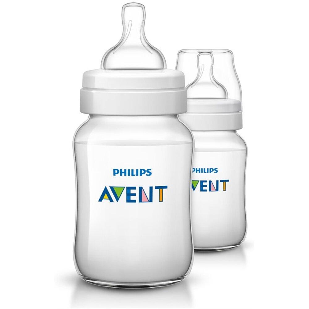 Image of Philips Avent Anti-Colic sutteflaske, 260 ml, 2 pk (40c31873-dea9-4481-9fe8-5a1ab1b1f6f4)
