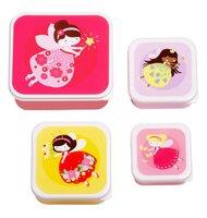 Lunch & snack box sæt - fairies