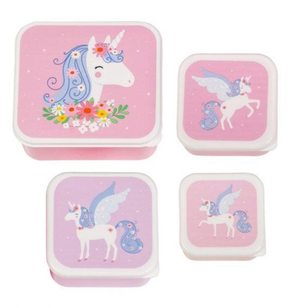 Image of ALLC Lunch & snack box sæt - unicorn (7c58bd03-2b65-488e-b573-300b4e4cdfd6)