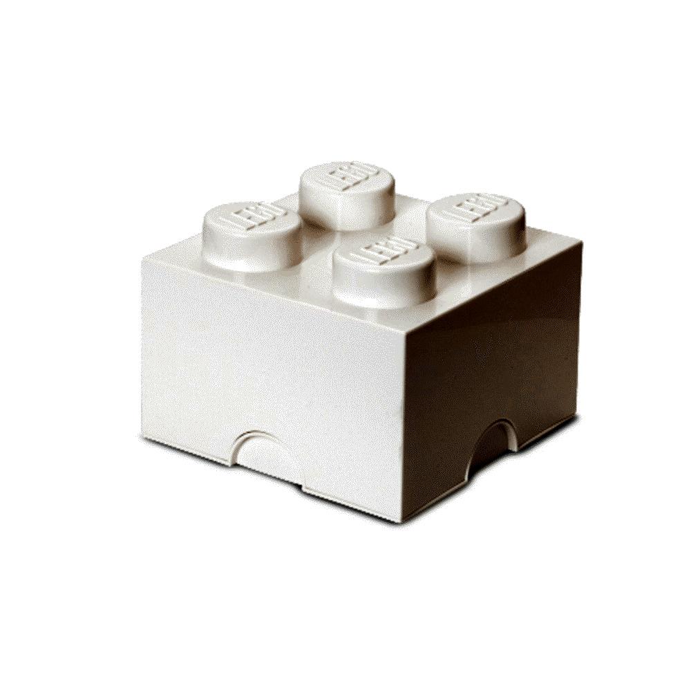Image of LEGO Storage LEGO Opbevaringskasse 4 Hvid (9e2979b9-d88b-4dd2-a5b8-4c88c36a981c)