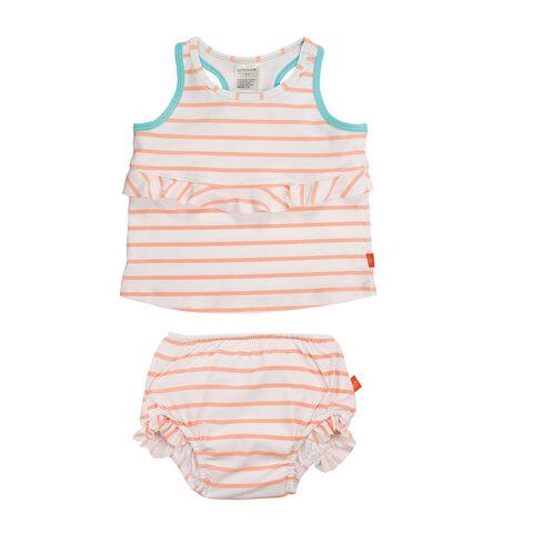 2-Delt Tankini - Sailor Peach
