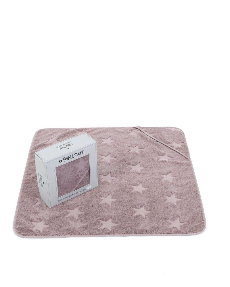 Smallstuff Babyhåndklæde, Soft Rose