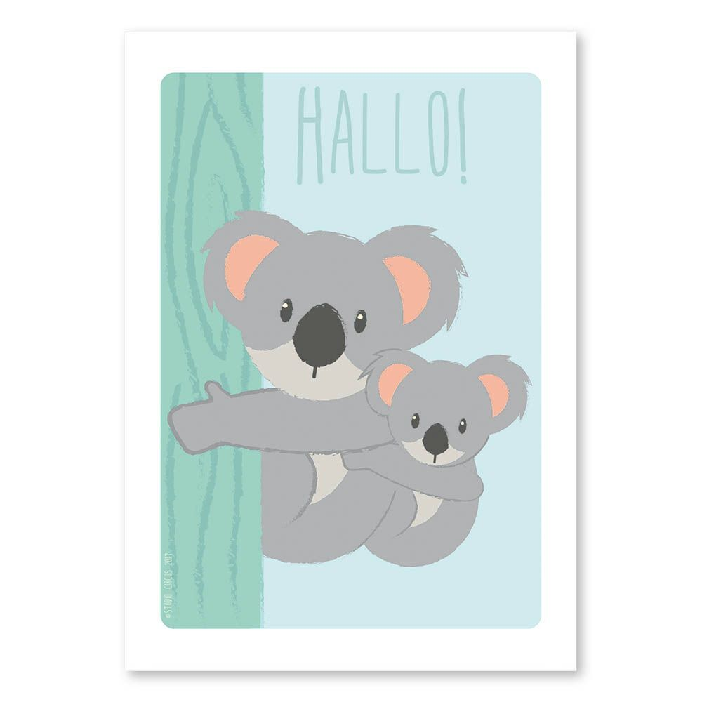 Studio Circus Plakat - Koala - A4