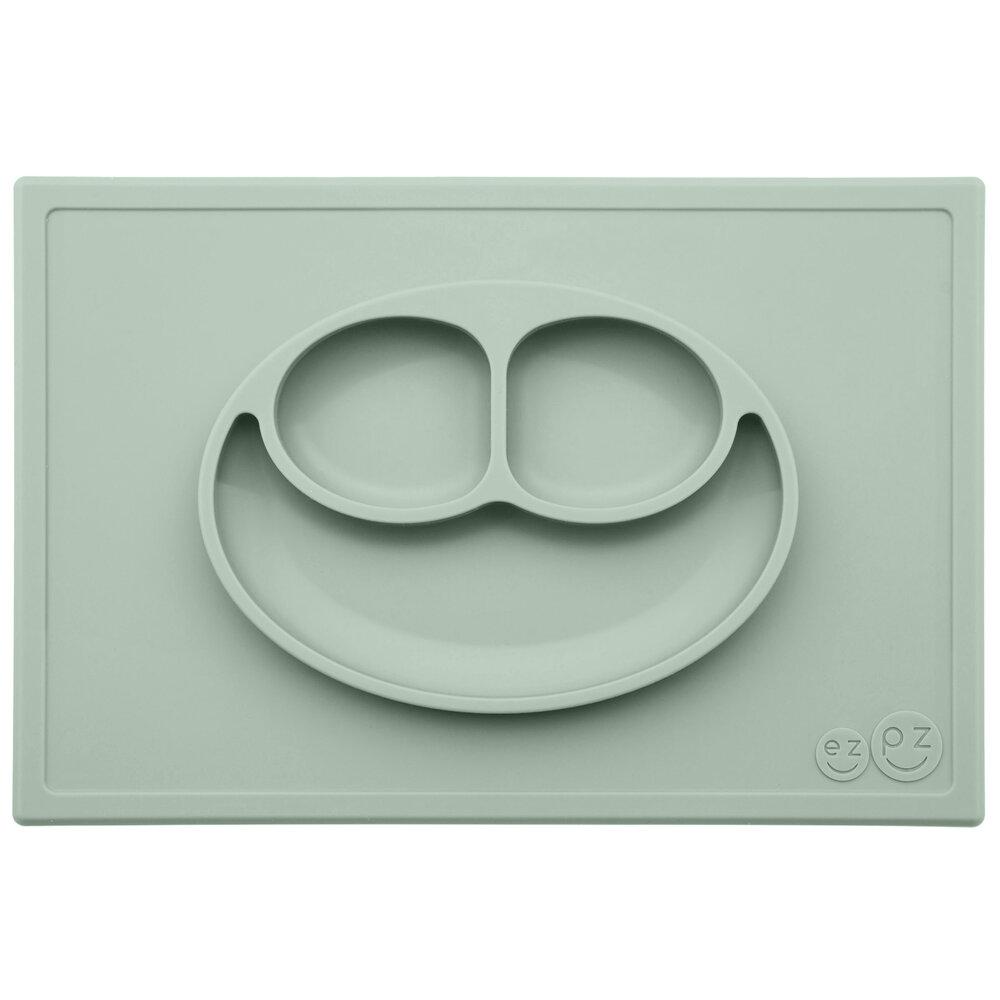 Image of EZPZ Tallerken Happy Mat - Sage (223d5c55-7f85-4b06-a88c-7450f2849a76)