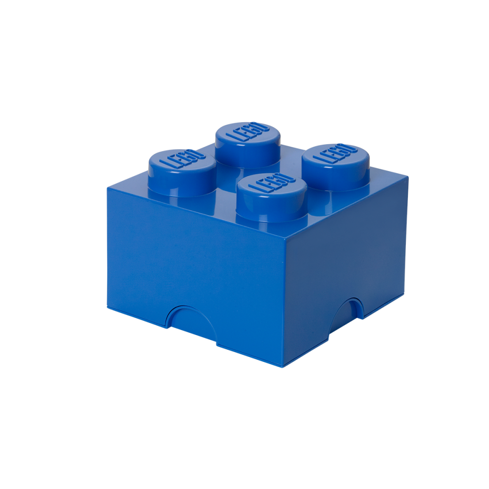 Image of LEGO Storage Lego Opbevaringskasse 4 - Bright Blå (a46a7497-b0b6-4334-bf21-9f0f3bcaba12)
