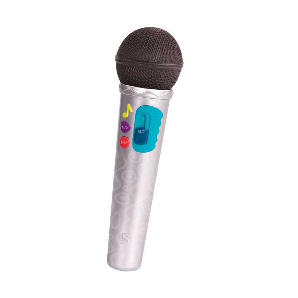Image of B Toys Mikrofon Med Holder Og Lysshow (3ac797c3-09aa-4184-967d-04551fb93cec)