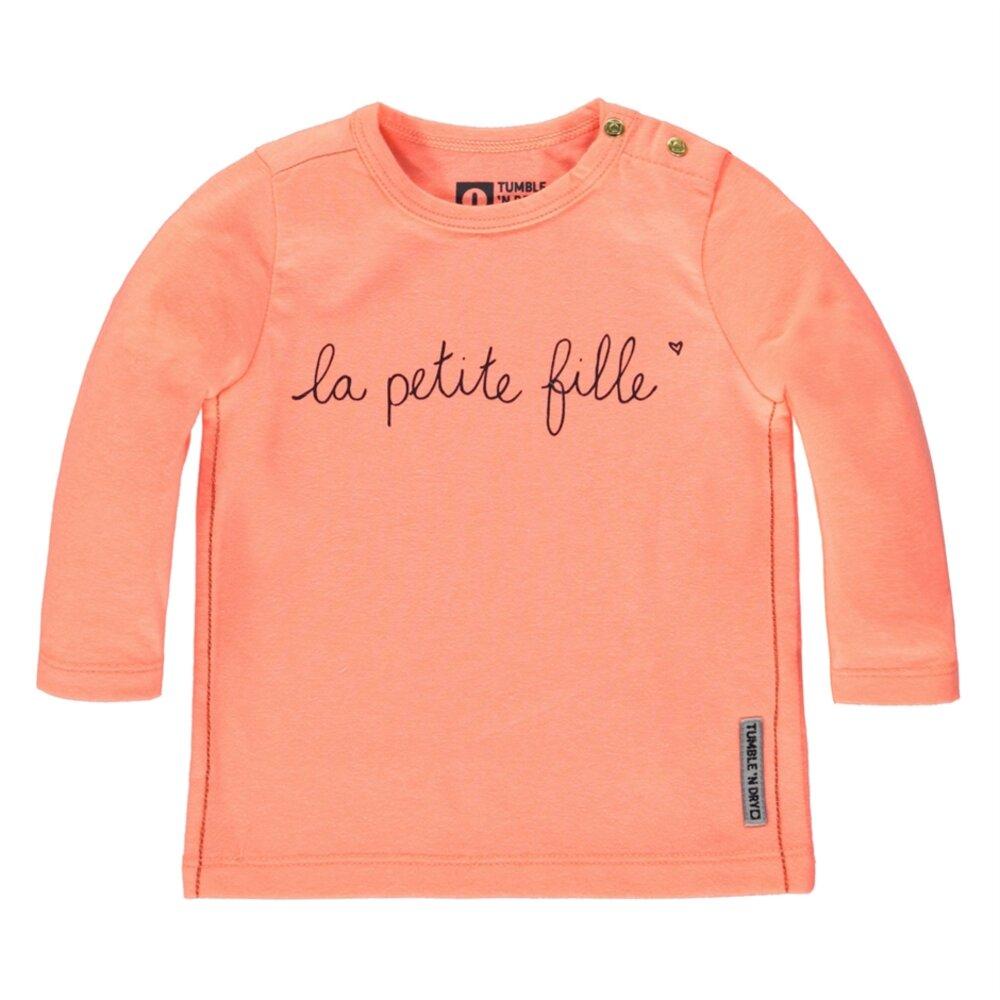 Image of Tumble´n Dry Roselands Langærmet T-Shirt - Orange Salmon (357837f9-4641-4c7c-964b-796f4d064fbd)