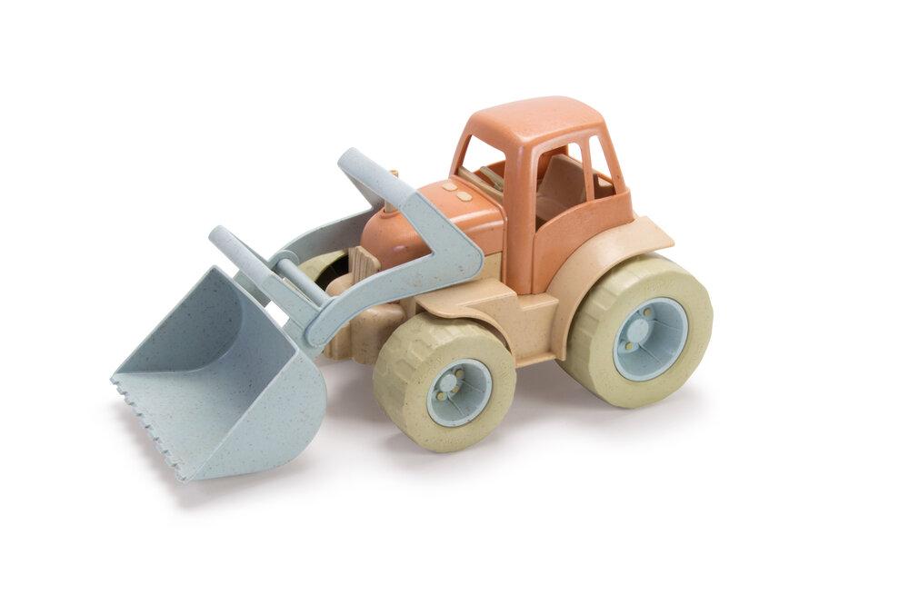 Image of DanToy Bio Plast Traktor Med Grab (499b23d6-b45d-4719-a1f1-4a09d27b389f)
