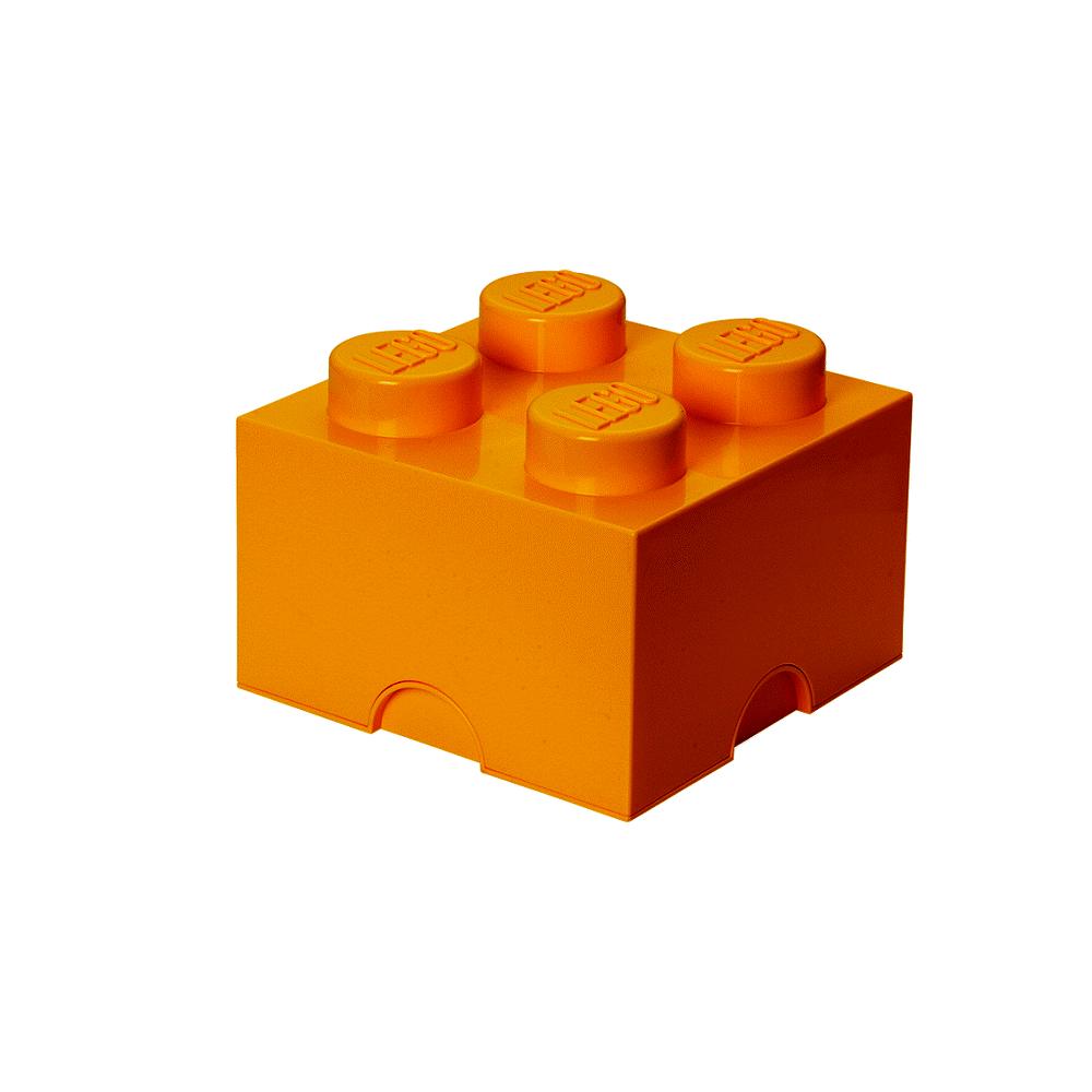 Image of LEGO Storage LEGO Opbevaringskasse 4 - Bright Gul (004080b4-9c93-4f0d-a228-dde552a4dfc8)