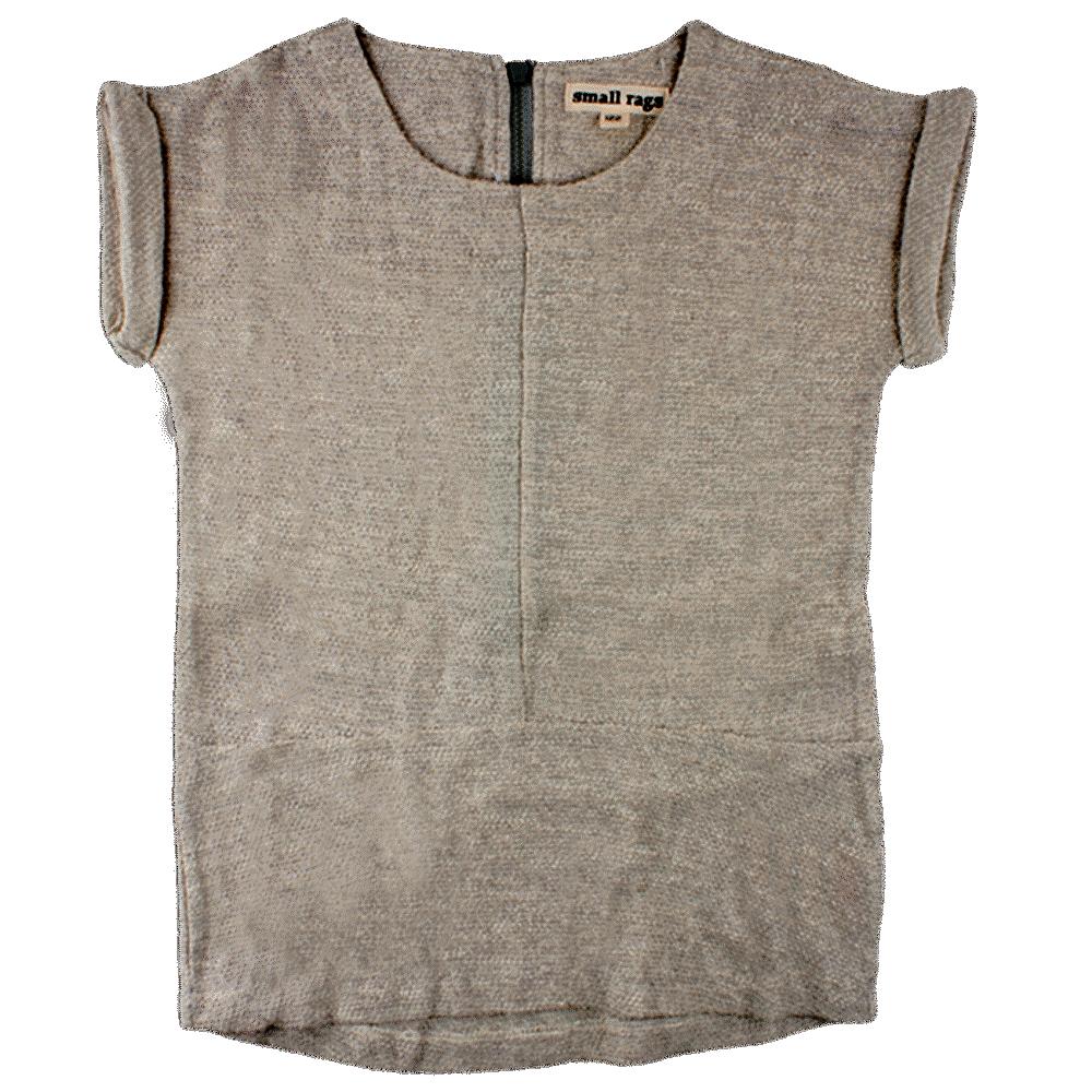 Image of Small Rags Bera Sweat T-shirt - Drizzle (9cb049cf-c071-4298-82ed-bd5fae4fcc2c)