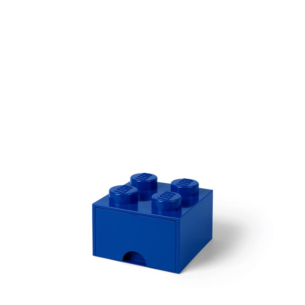 Image of LEGO Storage LEGO Opbevaringsskuffe Brick 4 - Bright Blå (7a280fa4-1f16-4091-83ce-adfb075da215)