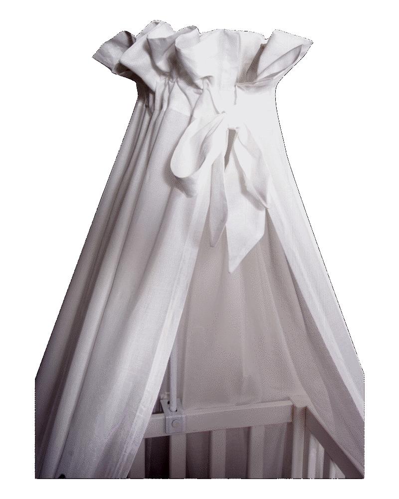 Image of VANILLA COPENHAGEN Sengehimmel 152cm hvid Voile (66b2b3b4-0fe0-48d5-84b4-1bcf23af87e2)