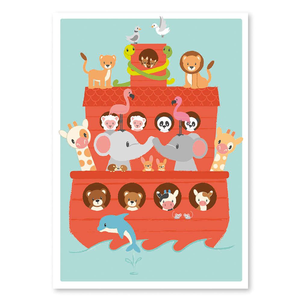 Image of Studio Circus Noah´s Ark Plakat - 50 x 70 Cm (84f47f74-ed9e-4640-abce-6b847c98fbbe)