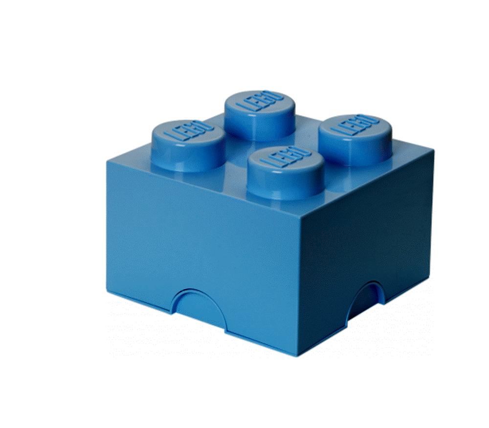 Image of LEGO Storage Lego Opbevaringskasse 4 - Blå (c41a29c2-ac47-40c0-820f-ed086e32e5ab)