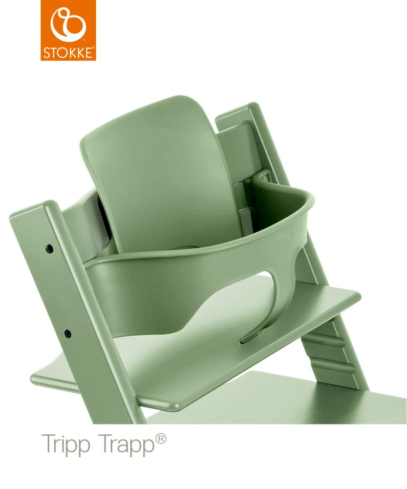Image of TRIPP TRAPP® Babysæt - Moss Green (8f8ca425-ba0b-44b4-b099-538315dc2bd8)