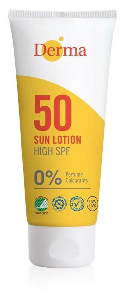 Image of Derma Sun Sollotion SPF50 (b2e68812-71de-4e1c-8480-86dbe462b006)