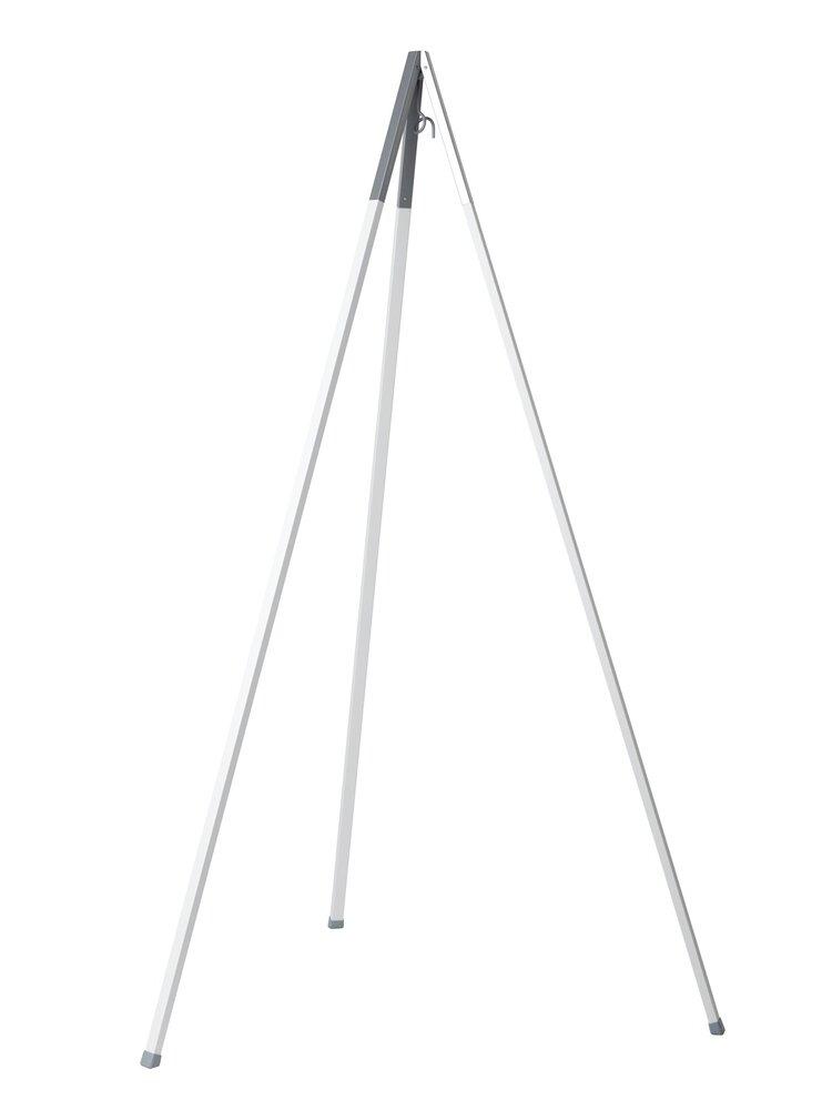 Image of Leander Classic™ Vugge Stativ - hvid alu. (98889e25-2e4d-4fad-afd4-1cdc97e1bf31)