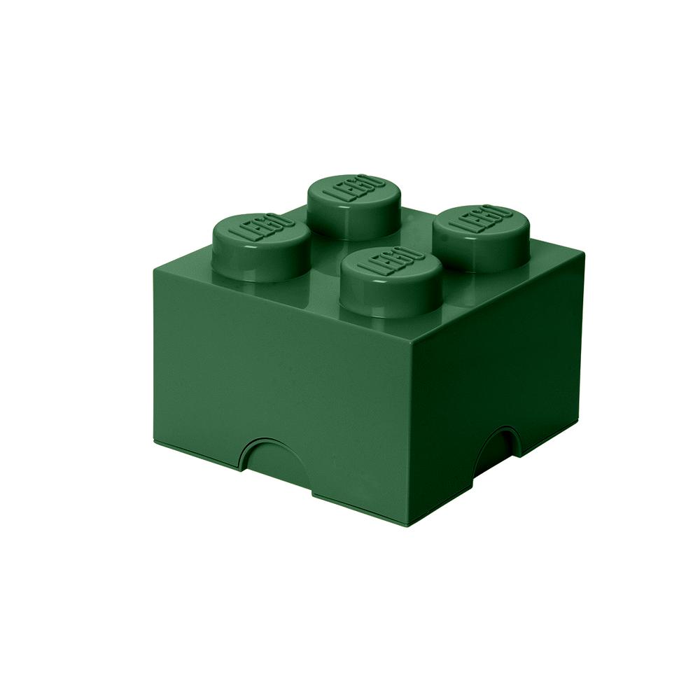 Image of LEGO Storage LEGO Opbevaringskasse 4 - Sand Grøn (bb407232-b519-4808-bea7-134dd155bd83)