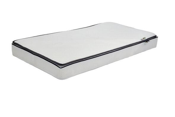 DreamSafe Madras 60x120cm - Inklusiv Topmadras - Hvid