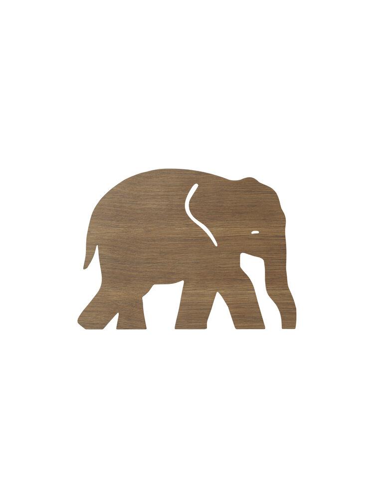 Image of ferm Living Elephant Lamp Mørk Natur (e9c5fc67-a715-41ff-8ff0-8581a5ae9528)