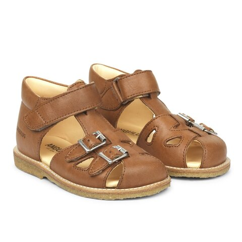 Begynder sandal med velcro og spænder - 1545