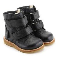 Starter Tex Støvle Med Velcro -2504 Sort