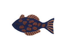 Fish Tufted Deco Tæppe