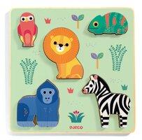 Træpuslespil, Vilde dyr